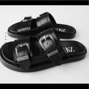 NWT ZARA Sandals, SZ 9